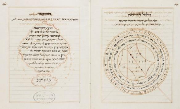 Manoscritto_Ebraico_Kabbalistico_trattante l'Astrologia