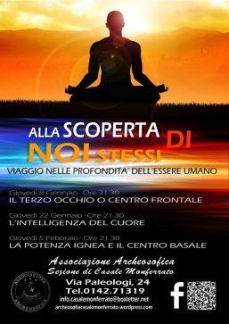 ALLA SCOPERTA DI NOI STESSI · CASALE MONFERRATO