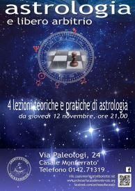 Dal 12 novembre 2015 · Ore 21.00 · Casale Monferrato