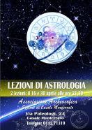 LEZIONI DI ASTROLOGIA · CASALE MONFERRATO