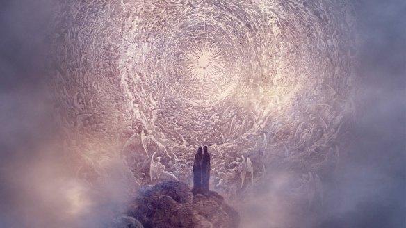 Dante e Beatrice circondati dalle Gerarchie Angeliche.jpg