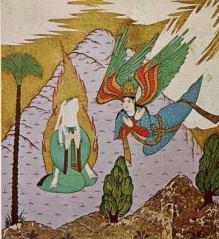 L'Arcangelo Gabriele e Maometto