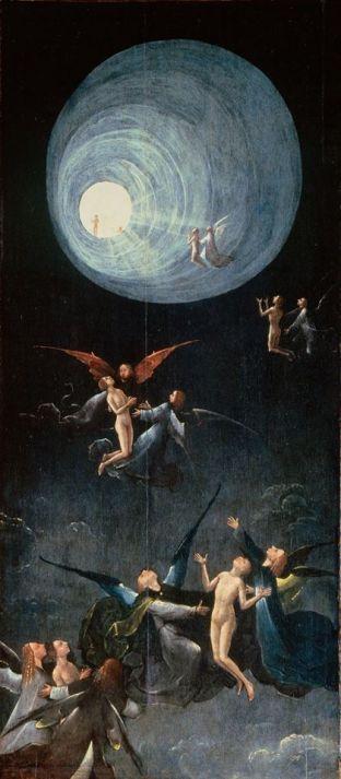 Salita all'Empireo di Hjeronymus Bosch