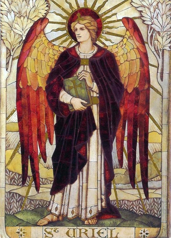 Uriele Arcangelo - Chiesa di San Giovanni - Warminster (Wiltshire - Inghilterra)