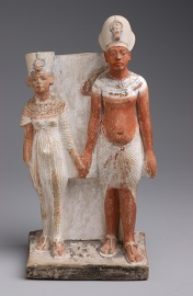 Akhenaton e Nefertiti - Museo del Louvre - Parigi
