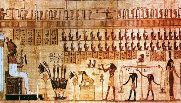 La pesata delle anime - Dal libro egiziano dei morti